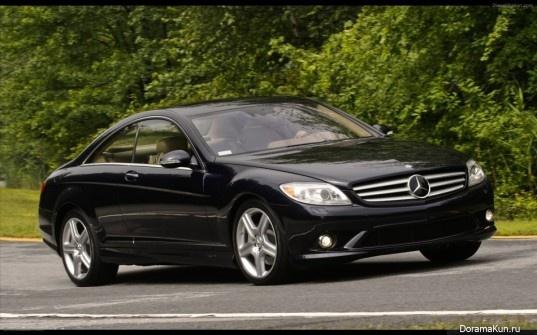 Машина Ли Хери (Benz CL550)