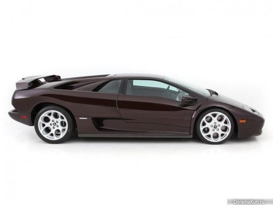 Машина Пак Сан Мин (Lamborghini Diablo VT 6.0)
