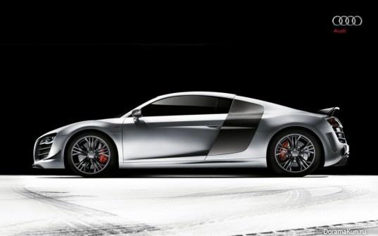 Машина Ким Хе Сон (Audi R8)