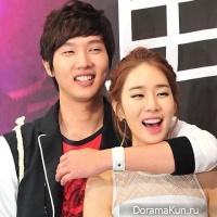 Yoo In Na и Ji Hyun Woo