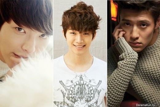 Kim Woo Bin, Kang Ha Neu и Junhо