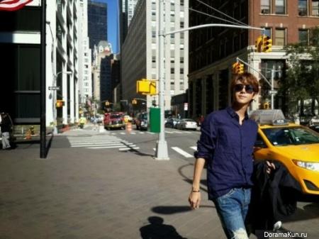 Нью-Йоркские фото Кванхи
