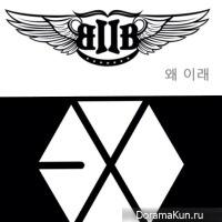 BTOB завидуют EXO