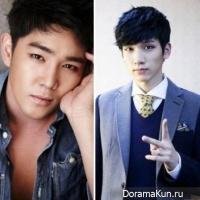 Канин из Super Junior и Хёк из VIXX