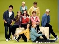 Super Junior и f(x)