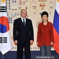 Владимир Путин в Кореи