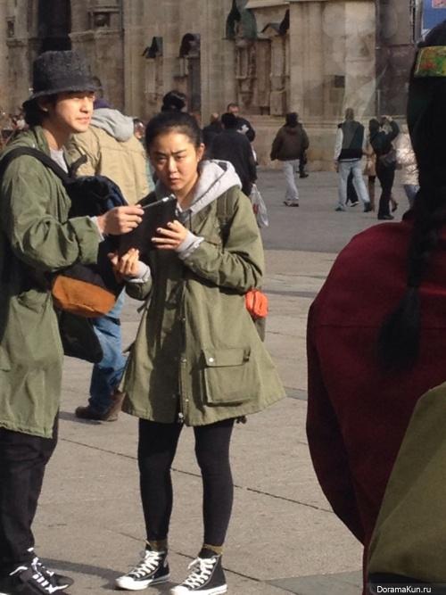 Мун Гын Ён и Ким Бом