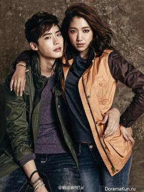 Пак Шин Хе и Ли Чон Сок