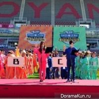 Чемпионате по легкой атлетике среди идолов