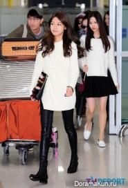 Girls' Generation, EXO, f(x), SHINee, Хичоль, БоА вернулись из Японии