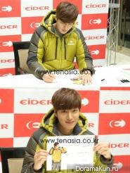 Ли Мин Хо посетил автограф-сессию Eider