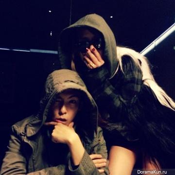 CL из 2NE1 c T.O.P из BIG BANG