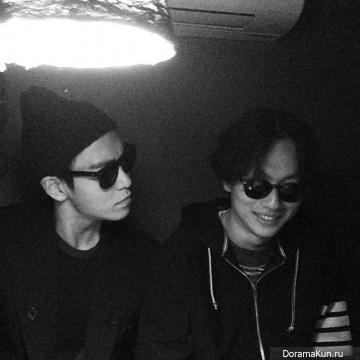 T.O.P из Big Bang с Ли Донхви