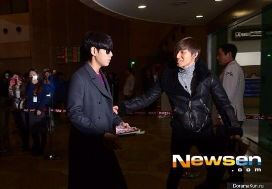 T.O.P и ДэСон из Big Bang