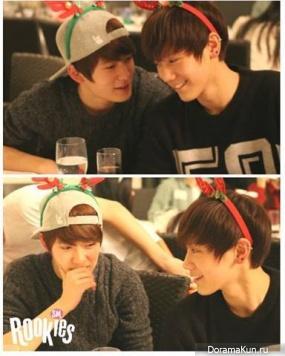 ДжеХён и Тэн из SM Rookies