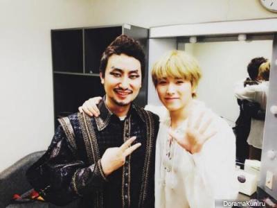 Park MuJin с Сонмином из SUPER JUNIOR