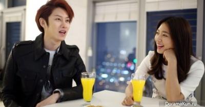 Ким Хичоль с Пак Шин Хе