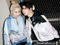 Ahn Jae Hyun и Krystal из f(x) для PUMA F/W 2014