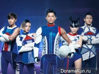 Show Luo, Aaron Kwok, Jolin Tsai, Huang Xiaoming и Momo Wu для PEPSI