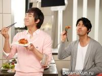 Cha Seung Won & Lee Seung Gi для Samsung Zipel Asak Refrigerator
