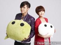 Rainie Yang и Show Luo для WeChat