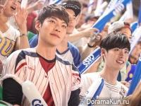 Kim Woo Bin и Lee Jong Suk для Cass Beer 2