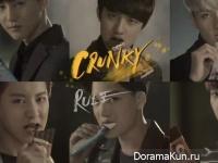 EXO для Crunky Chocolate