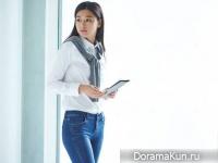 Jeon Ji Hyun для UNIQLO Jeans