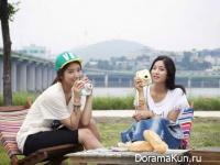 Park Shin Hye и Park Se Young для Fuji INSTAX Polaroid