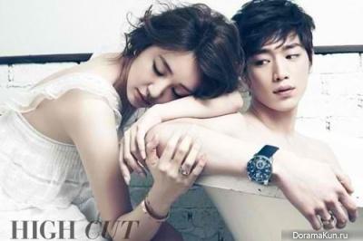 Seo Kang Joon and Yoon Eun Hye