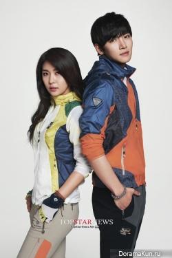 Ha Ji Won и Ji Chang Wook