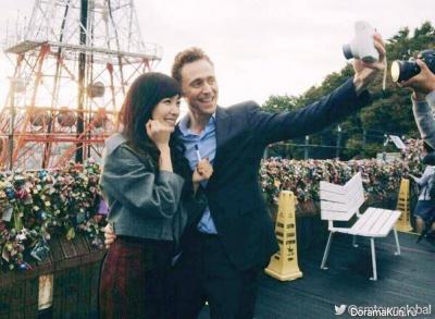 Tiffany and Tom Hiddleston