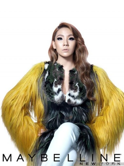 CL стала новым лицом марки 'Maybelline New York'