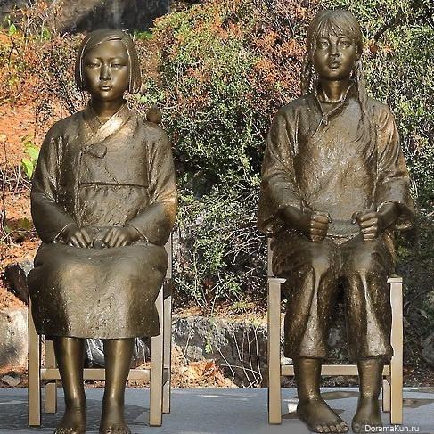 Сексуальные статуи корея