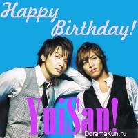 Happy birthday, YuiSan!