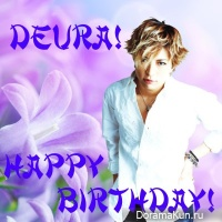 Happy birthday, deura!