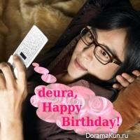 Happy Birthday, deura!!!