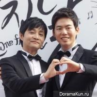 Kim Jo Kwang Soo and Kim Seung Hwan
