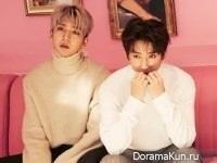 B1A4 для The Star February 2017
