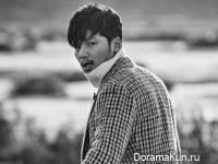 Byun Yo Han для Grazia December 2016