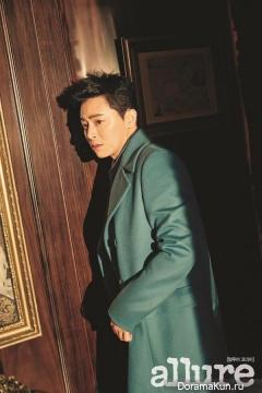 Jo Jung Seok, D.O (EXO) для Allure December 2016