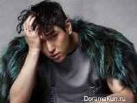 Go Kyung Pyo для Singles December 2016 Extra