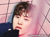 Gong Myung для Grazia December 2016