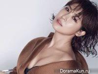 Ha Ji Won для InStyle August 2017