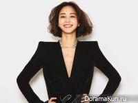 Han Ye Seul для Cosmopolitan September 2017