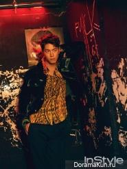 Hong Jong Hyun для InStyle August 2017