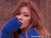 Hyuna для Singles February 2017