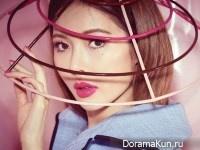 HyunA для Vogue March 2017
