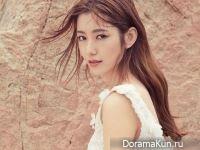 Na Hye Mi для InStyle July 2017