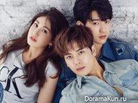 Jackson, Jinyoung (GOT7), Somi (I.O.I) для High Cut Vol.198